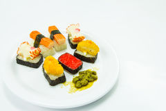 Sushi. This photo are Sushi.It are Japanese foods Stock Image