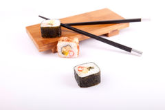Sushi pieces Royalty Free Stock Images