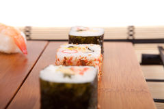 Sushi pieces Royalty Free Stock Photo