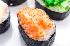 Sushi pieces collection Stock Images