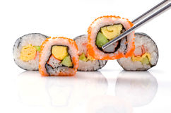 Sushi pieces collection Stock Photography