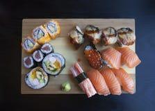Sushi plate Royalty Free Stock Image