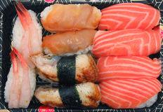 Sushi Plate Stock Photo
