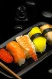 Sushi plate Stock Image
