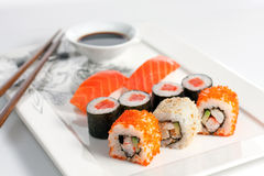 Free Sushi Plate Royalty Free Stock Photos - 8791018