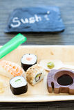 Sushi plate Royalty Free Stock Photography
