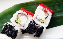 Sushi on a plate Stock Photography