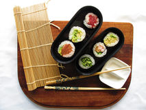Sushi plate Royalty Free Stock Photo