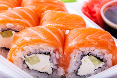 Sushi on a plate Stock Photos