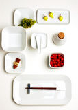 Sushi Plates Royalty Free Stock Photo
