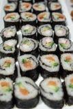 Sushi-Platte Lizenzfreie Stockfotos