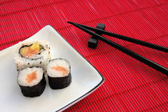 Sushi-Platte Stockfoto