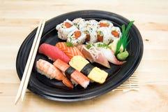 Sushi-Platte Lizenzfreie Stockfotografie