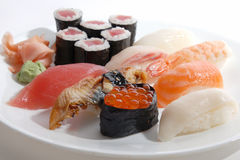 Sushi platter Royalty Free Stock Photography