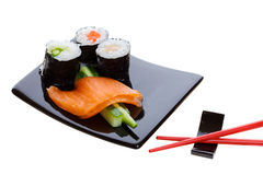 Sushi platter Royalty Free Stock Photos