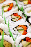 Sushi platter Stock Photography