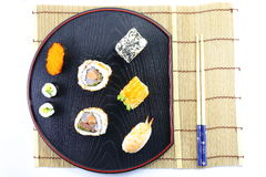 Sushi Platter Royalty Free Stock Photography