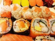 Sushi portrait Stock Images