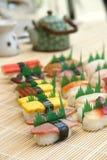 sushi préparés délicieux photographie stock libre de droits