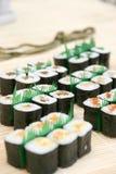 sushi préparés délicieux photos stock