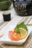 sushi préparés délicieux photo libre de droits