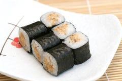 sushi préparés par maki délicieux photographie stock