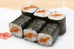 sushi préparés par maki délicieux Photo libre de droits