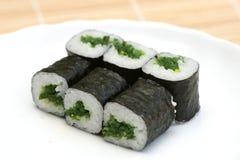 sushi préparés par maki délicieux images libres de droits