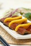 Sushi preparado y delicioso Foto de archivo