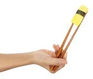 Sushi-Probeflasche Tamago Lizenzfreies Stockfoto