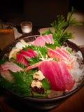 Sushi. Raw fish japanese dish Royalty Free Stock Images