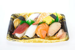 Sushi raw seafood royalty free stock photography