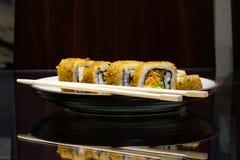 Sushi ready to eat Royalty Free Stock Photo