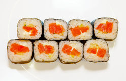 Sushi with red fish 5 Stock Photos