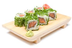 Sushi-  refreshment vegetarian Stock Image