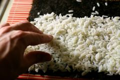 Sushi rice Stock Photography