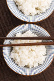 Sushi rice in bowl Royalty Free Stock Photo