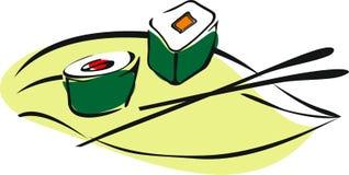 Sushi rolado Imagens de Stock