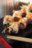 Sushi roll. Japanese style sushi roll rice Stock Photography