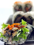 SUSHI-ROLL Stock Photos
