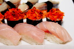 Sushi Roll Assorted Royalty Free Stock Image