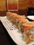 Sushi Roll. Awesome sushi with lemon Royalty Free Stock Photography