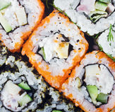 Sushi Roll background Royalty Free Stock Photo