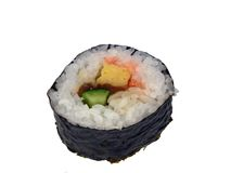 Sushi roll-design element Royalty Free Stock Image