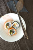 Sushi roll dish Stock Photography