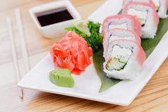 Sushi roll Royalty Free Stock Photos