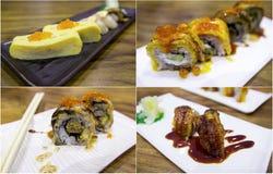 Sushi roll japanese food Stock Image