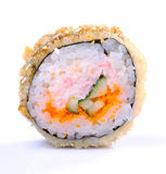 Sushi roll is japanese food Royalty Free Stock Photo