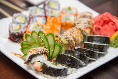 Sushi roll Stock Image