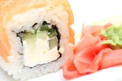 Sushi roll Philadelphia Stock Photography